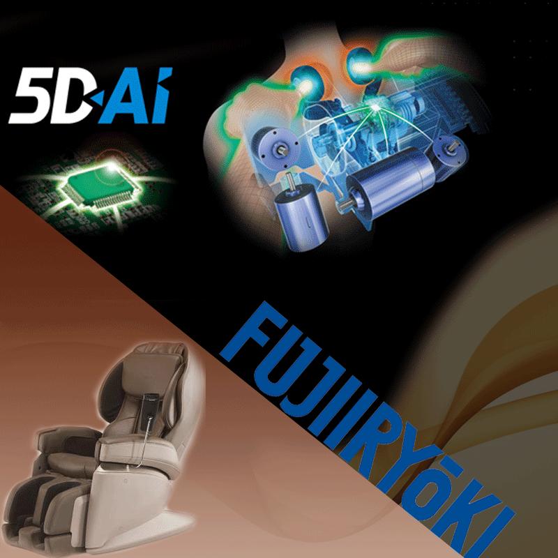 Tehnologie de masaj 5D+AI