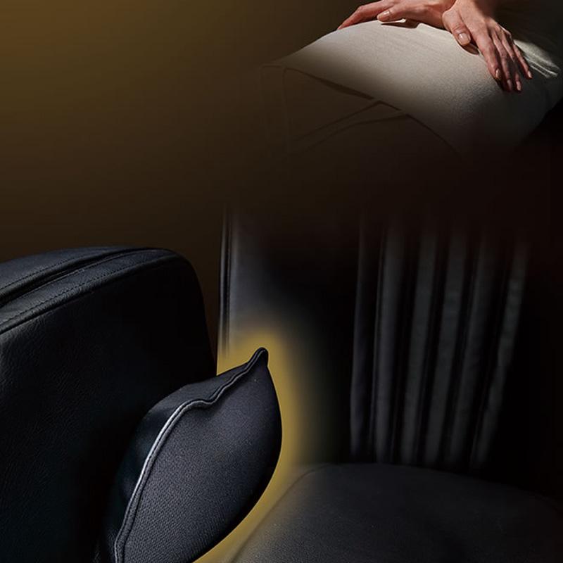 Masaj cu pulsatii a pernelor de aer
